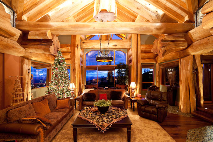 Rustic Holiday D 233 Cor Tips Pioneer Log Homes Of Bc Blog