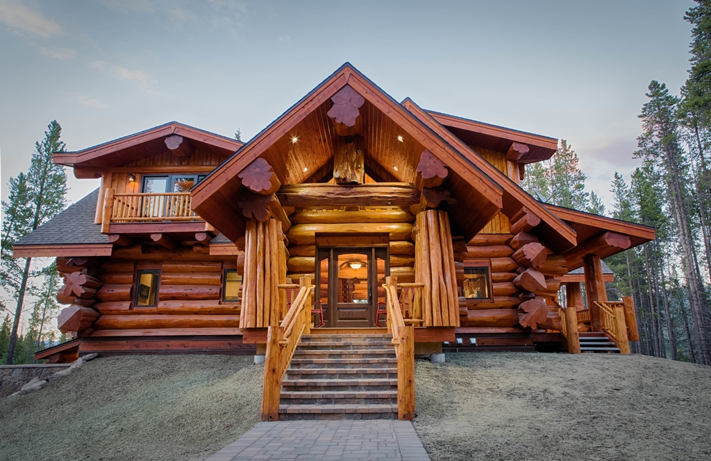 Pioneer Log Homes Of Bc Handcrafted Log Cabin Plans And