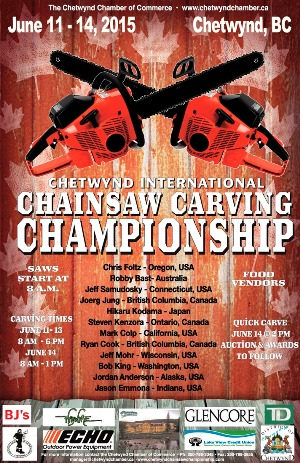 -CHAINSAW CARVING POSTER 2015 copy (1)